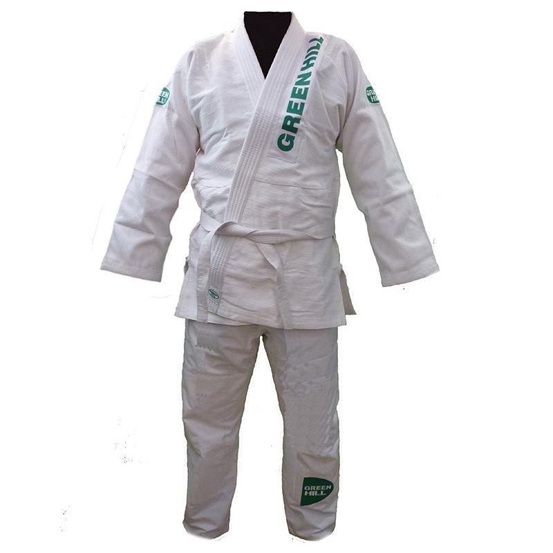 Кимоно джиу-джитсу GREEN HILL Gladiator JSJ-10349b