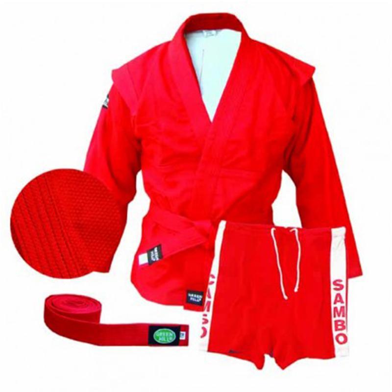 Куртка и трусы самбо GREEN HILL SSJ-10355