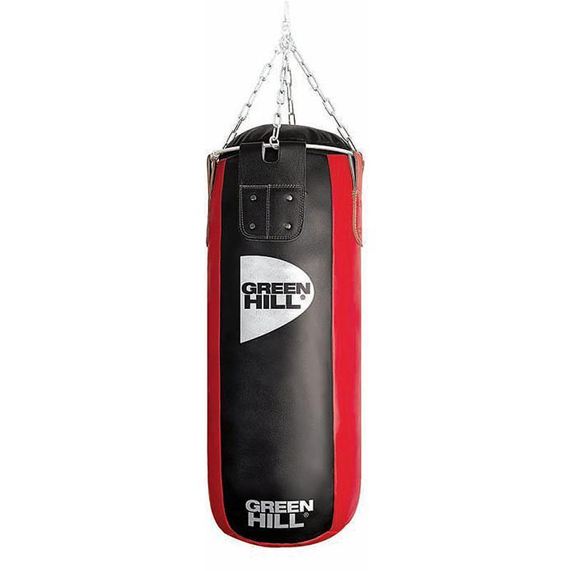 Мешок боксерский GREEN HILL PBS 120 см, диаметр 40 см, вес 53 кг, нат кожа 2 категории