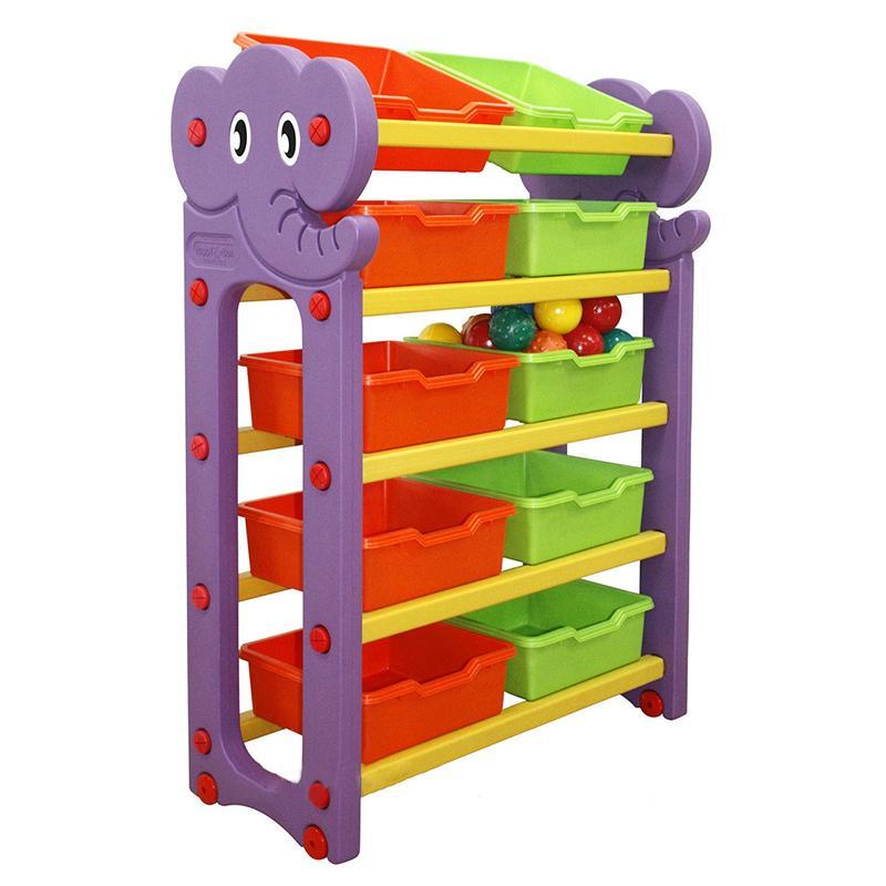 Стеллаж для хранения игрушек HAPPY BOX АК (5 секции)