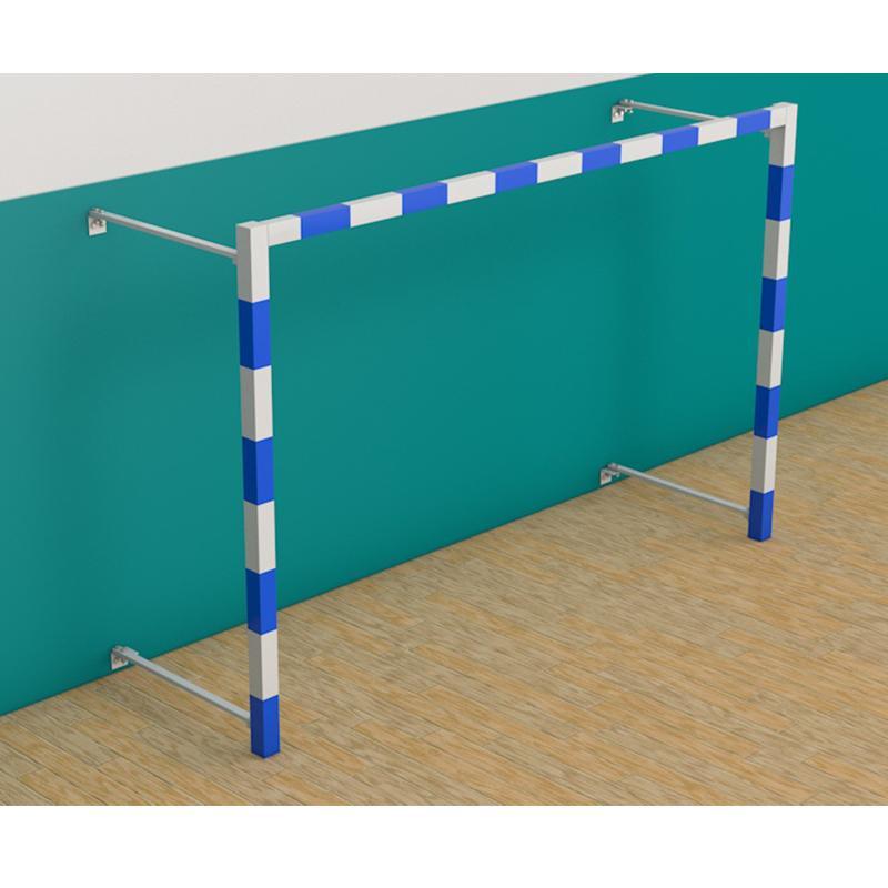Ворота минифутбольные, гандбольные складные, пристенные АТЛАНТ 300x200 см