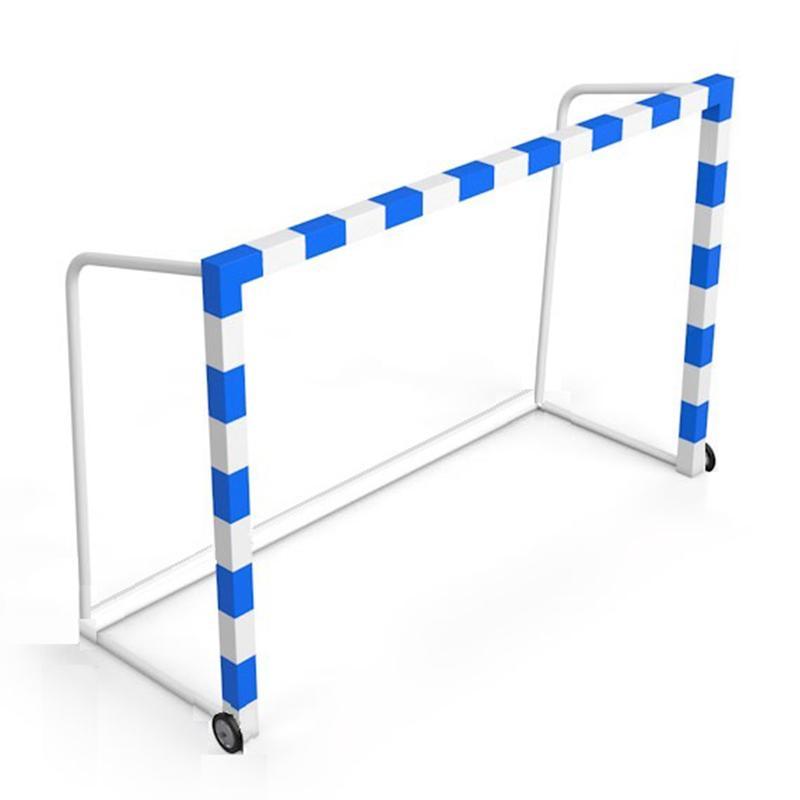 Ворота передвижные для мини-футбола и гандбола АТЛАНТ 300 х 200 х 100 см рама 80 мм