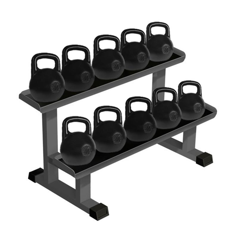 Гири любительские IK 5 пар от 8 до 32 кг в комплекте со стойкой