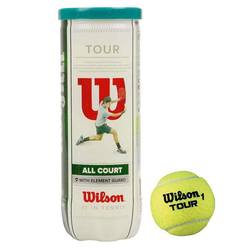 Мячи для большого тенниса WILSON All Court 3B (3 шт.)