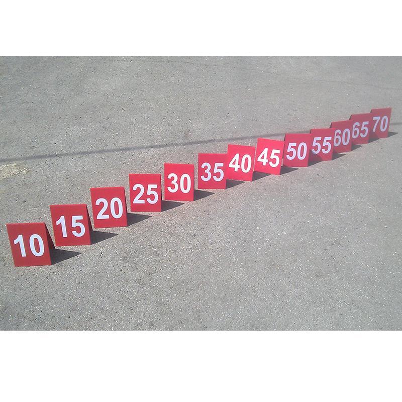 Маркеры для разметки (комплект 13 шт) арт.10287