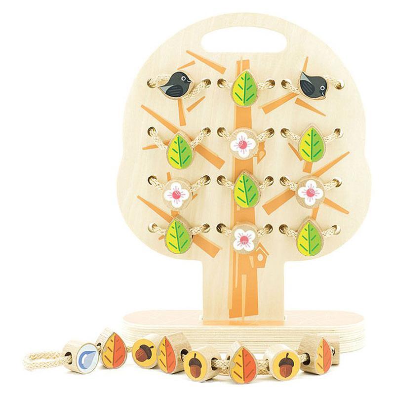 Обучающая игра Дерево-шнуровка