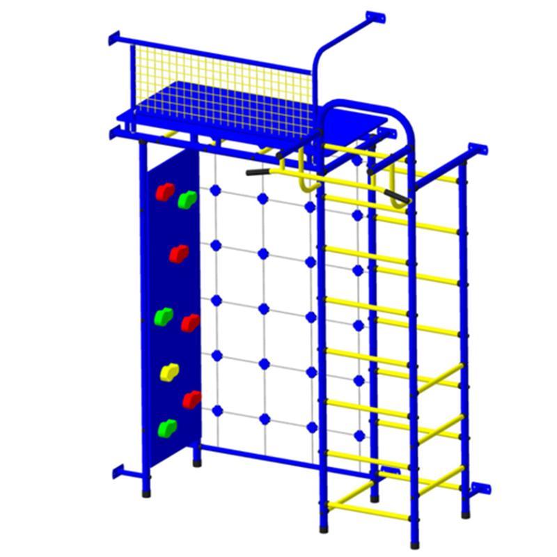 Детский спортивный комплекс ПИОНЕР 10С со скалодромом