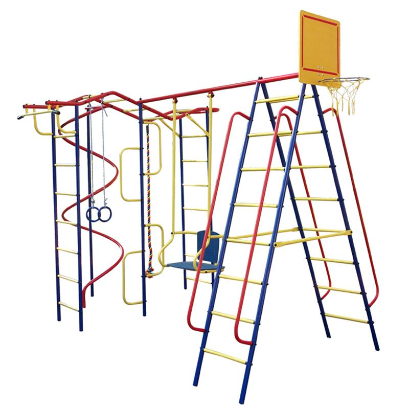 Детский спортивный комплекс ПИОНЕР Вираж дачный плюс со спиралью