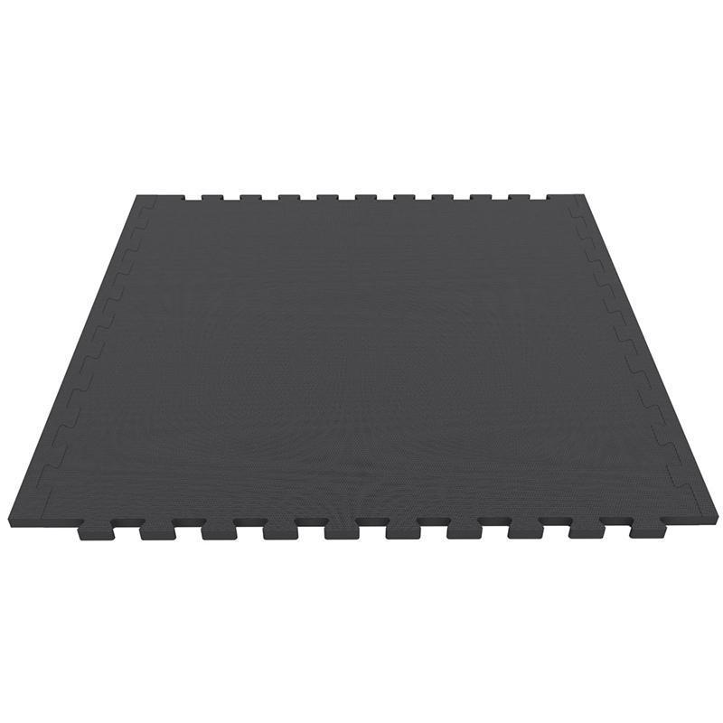 Модульное покрытие для тренажерного зала ЭВА ЕС 100 х 100 см, толщина 10 мм
