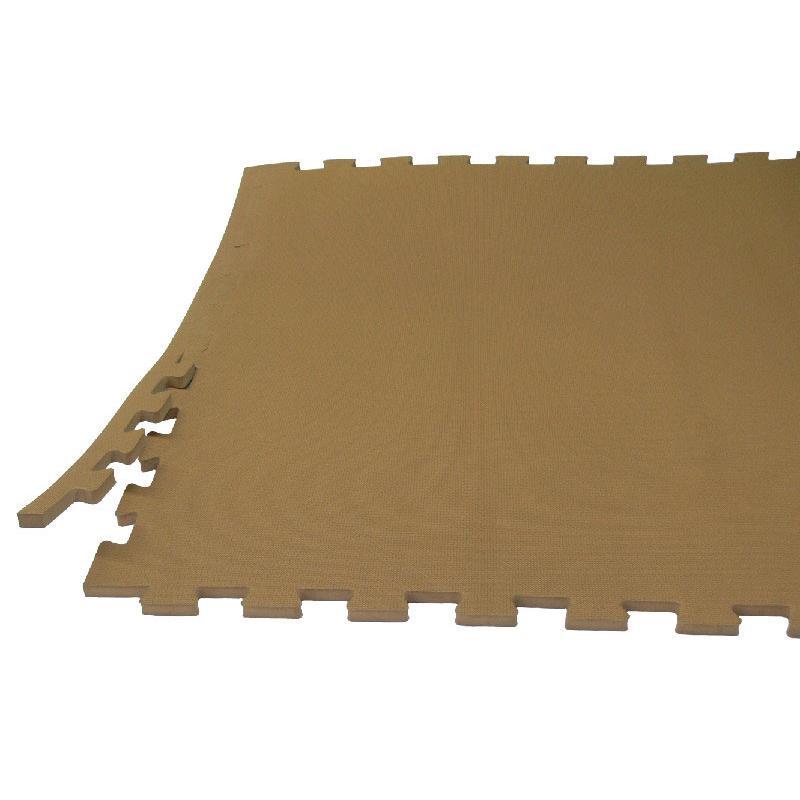 Модульное покрытие для залов йоги, пилатеса и стретчинга ЭВА ЕС 100 х 100 см, толщина 20 мм