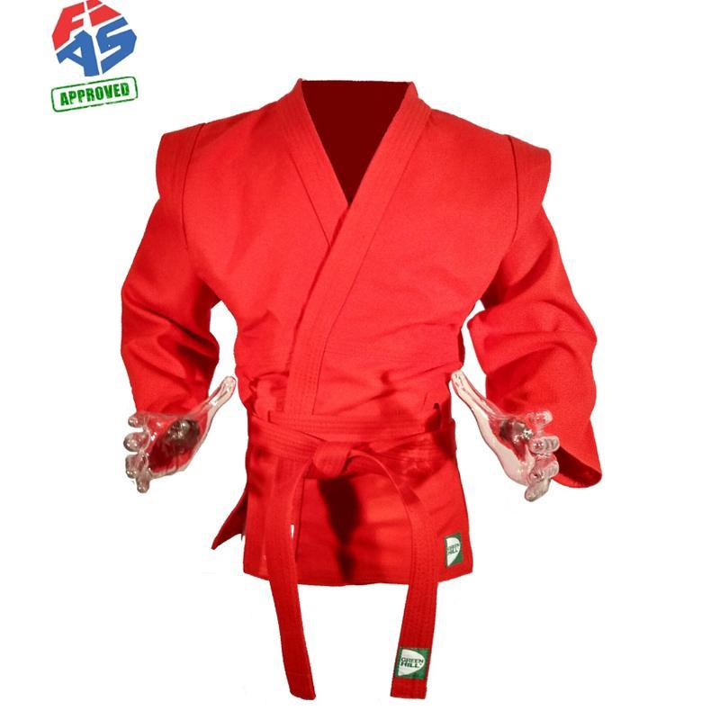 Куртка для самбо GREEN HILL SC-550FIAS Мастер FIAS Approved (Лицензия FIAS)