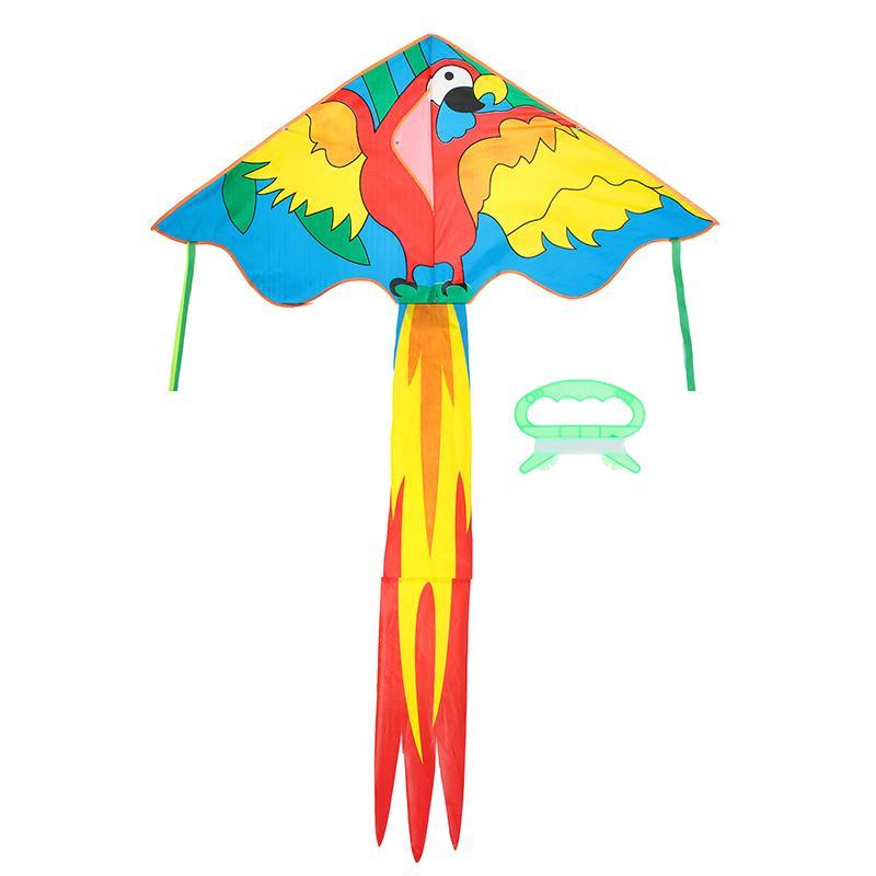 Воздушный змей с леской SL Попугай