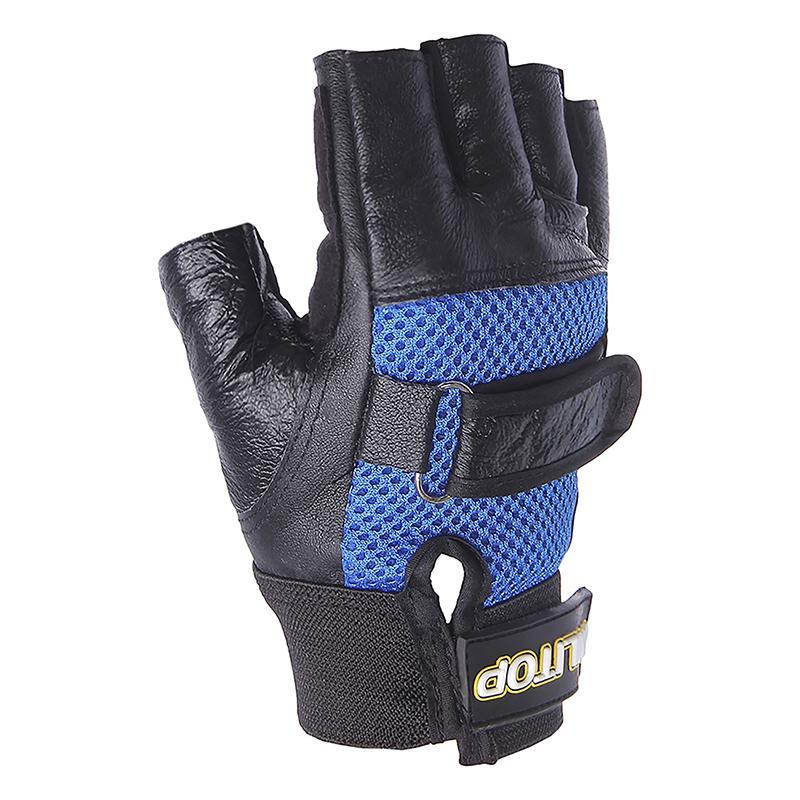 Перчатки для тяжелой атлетики ONLITOP с сеткой