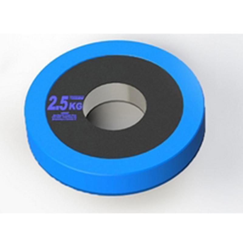 Диск стальной Olimp Pro+ 2,5 кг, диаметр 50 мм