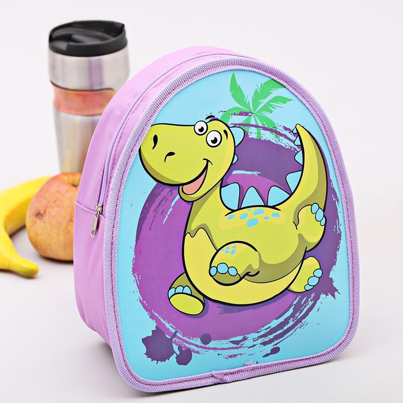 Детская термосумка рюкзак SL Динозаврик 8 л