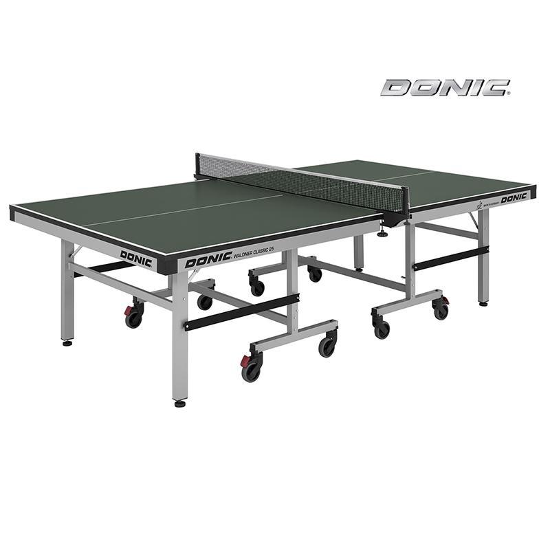 Теннисный стол DONIC Waldner Classic 25 профессиональный зеленый 400221-G