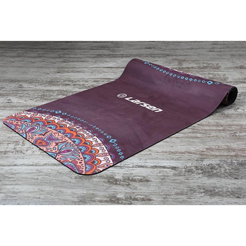 Коврик для йоги LARSEN Microfiber Style 3 180 x 60 x 0,3 см