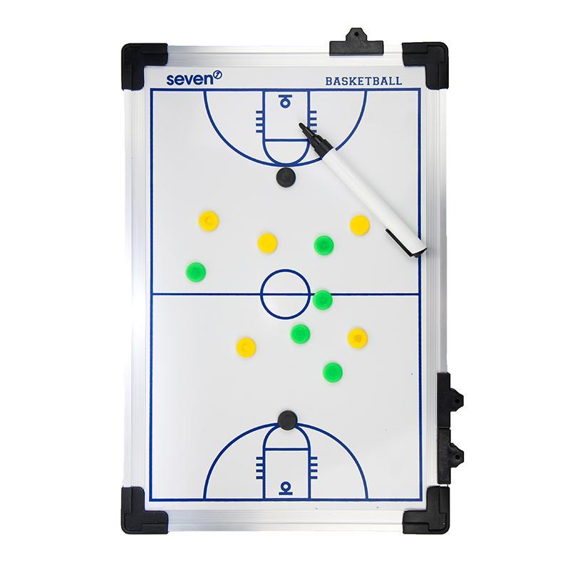 Тактическая доска для баскетбола SEVEN 45х30 см