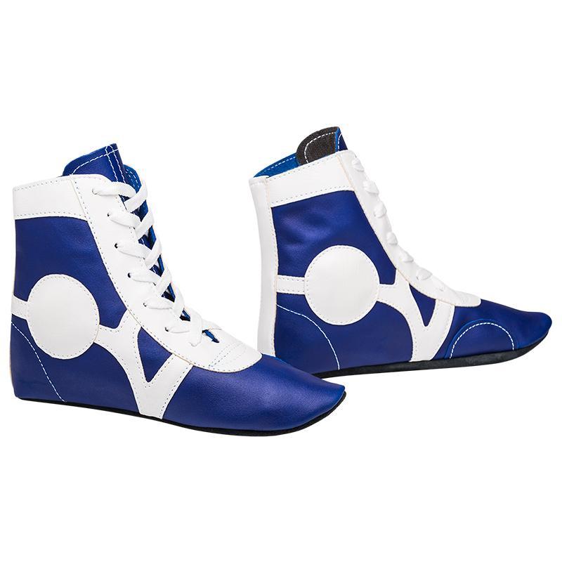 Обувь для самбо RUSCO SM-0102 (кожа)