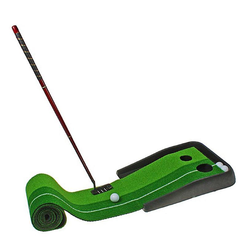 Набор для портативного гольфа SL (дорожка с 2 лунками, клюшка и 2 мячика)