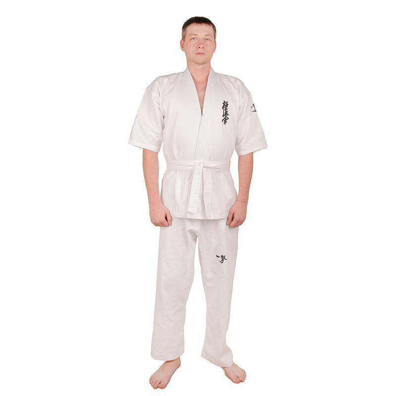 Кимоно SL кекусинкай с вышивкой, 240-280гр/м2