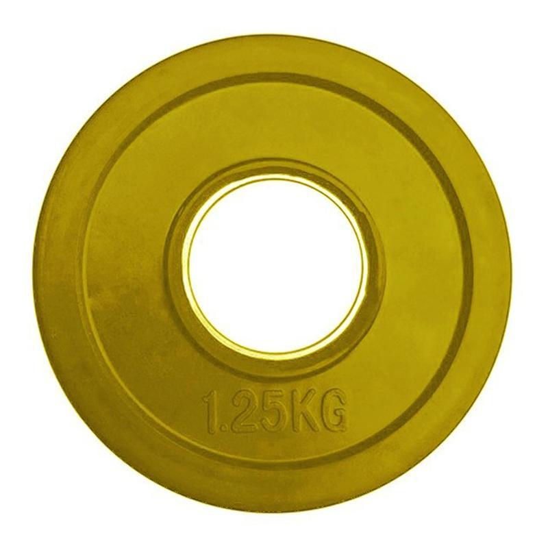 Олимпийский диск евро-классик, серия Ромашка 1,25 кг диаметр 51 мм