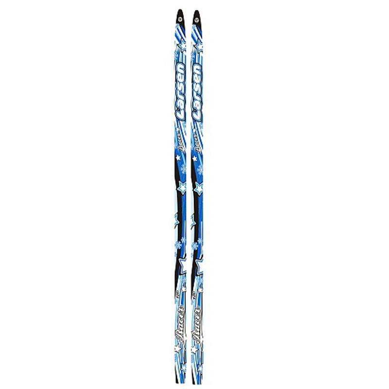 Лыжи пластиковые детские LARSEN step 100 - 140 см