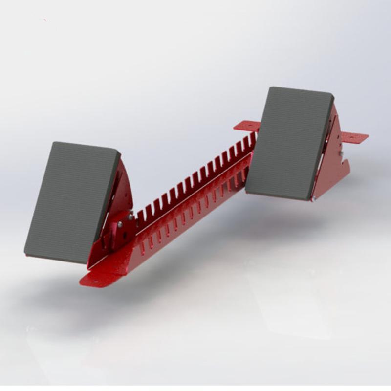 Колодки стартовые стальные регулируемые 920 мм