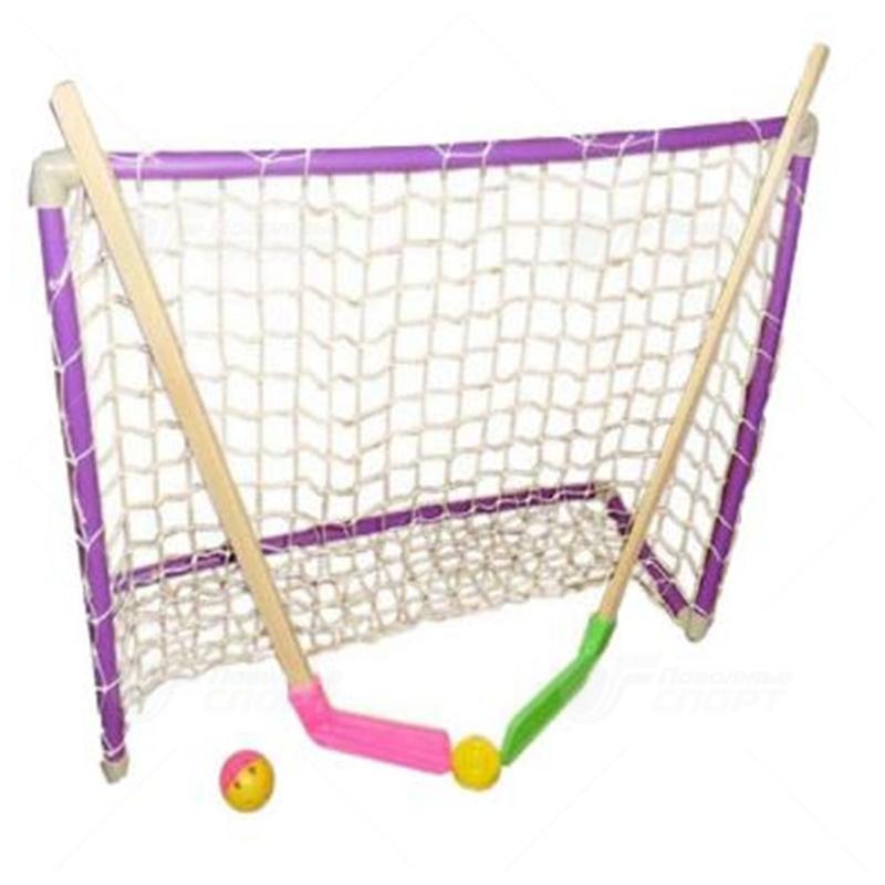 Набор хоккейный детский (2 клюшки + шайба + мячик + ворота)