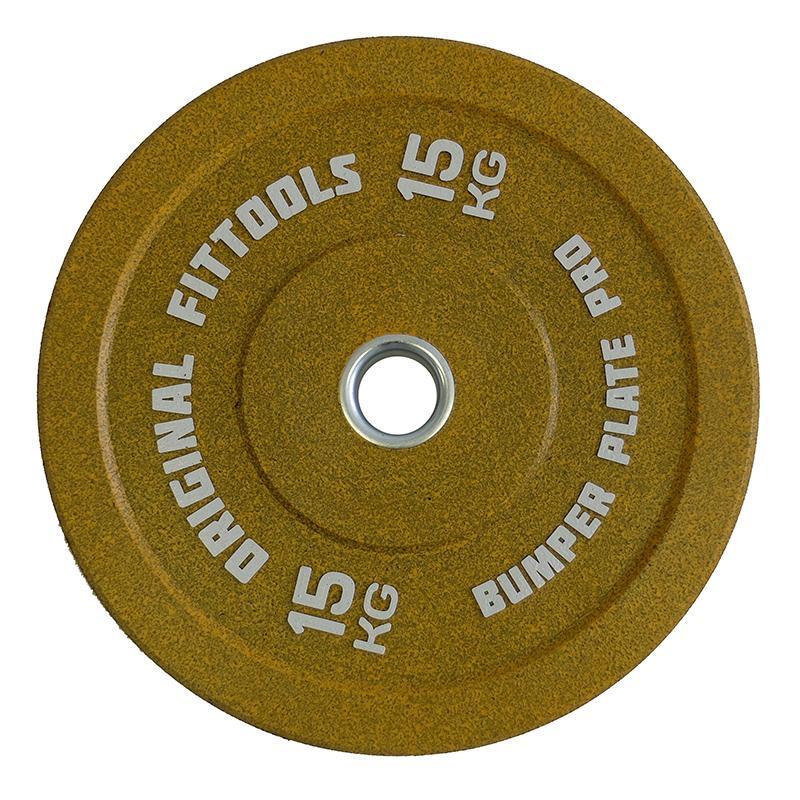 Диск бамперный 15 кг, диаметр 51 мм