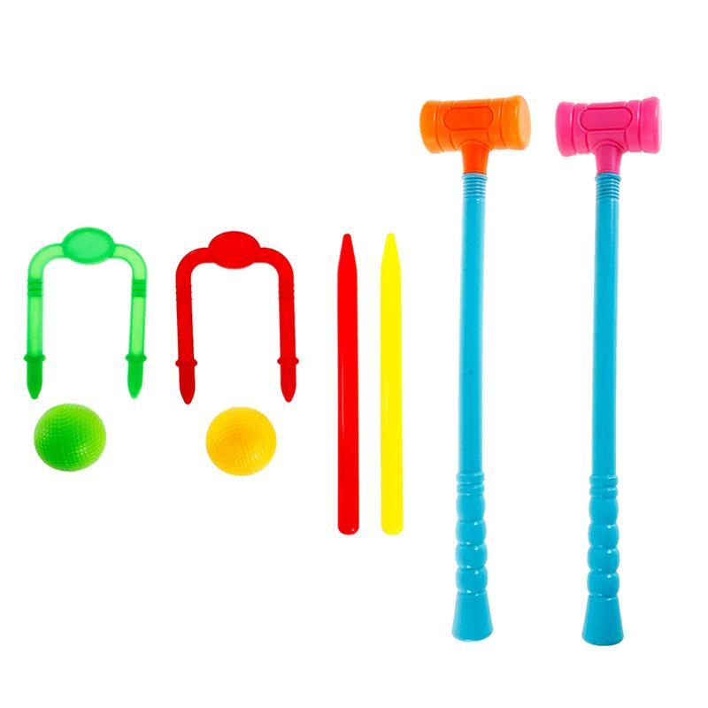 Набор для игры SL Весёлый крокет (8 предметов)