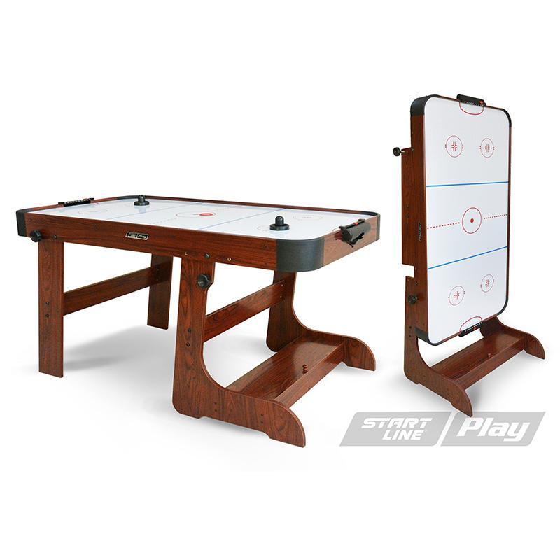 Игровой стол аэрохоккей START LINE Play Transform Ice