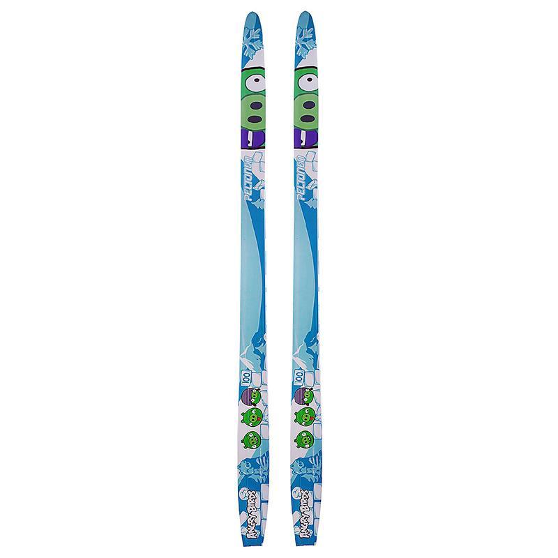 Лыжи полупластиковые детские Step 100-130 см