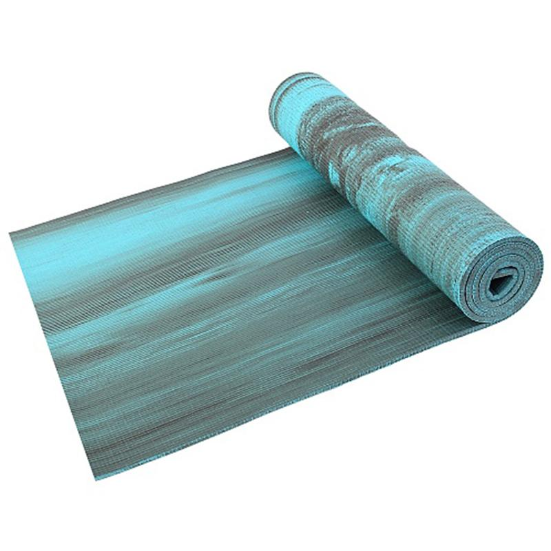 Коврик для фитнеса и йоги LARSEN PVC Multicolor 180 х 60 х 0,8 см