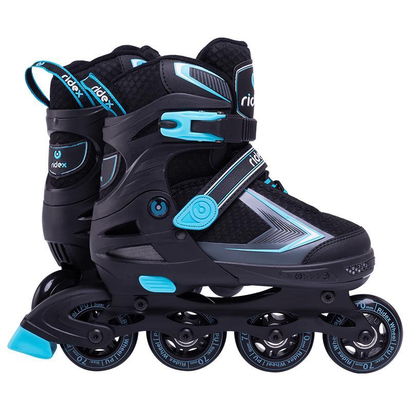 Раздвижные роликовые коньки RIDEX Tron Blue