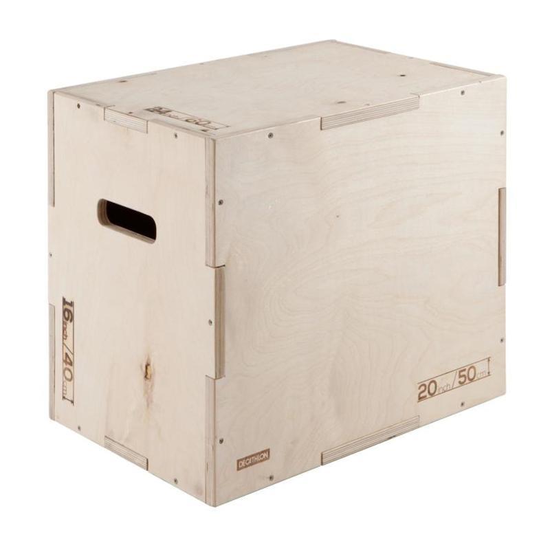 Плиометрический бокс - тумба для запрыгиваний DK 40-50-60 см
