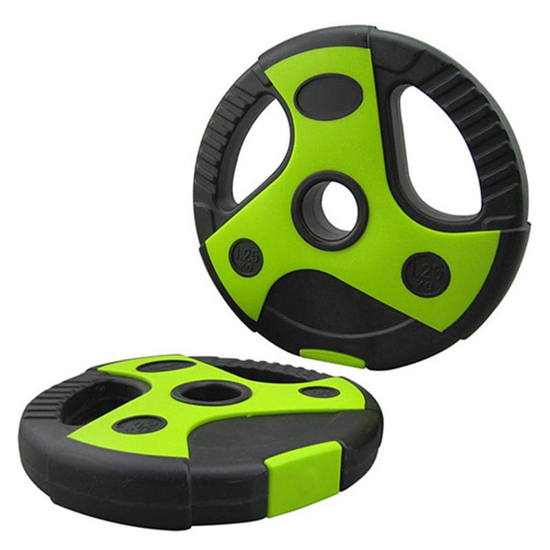 Диск пластиковый СХ CPL-200 с зелеными вставками 2,5 кг, диаметр 26 мм