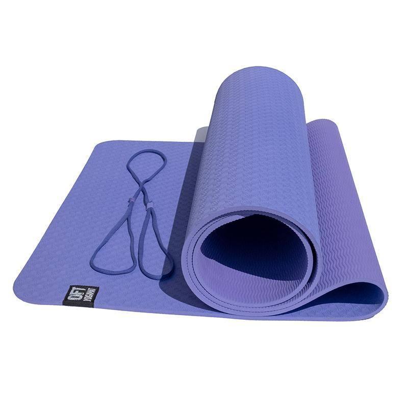 Коврик для йоги двуслойный TPE FT-YGM6-2TPE 183 x 61 x 0,6 см