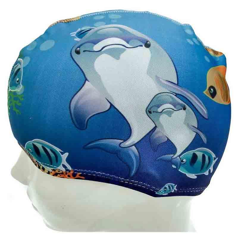 Шапочка для плавания детская текстиль B289