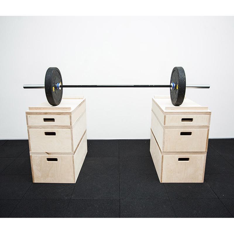 Комплект плинтов для тяжелой атлетики ST 2399 (Н=83 см, материал-фанера)