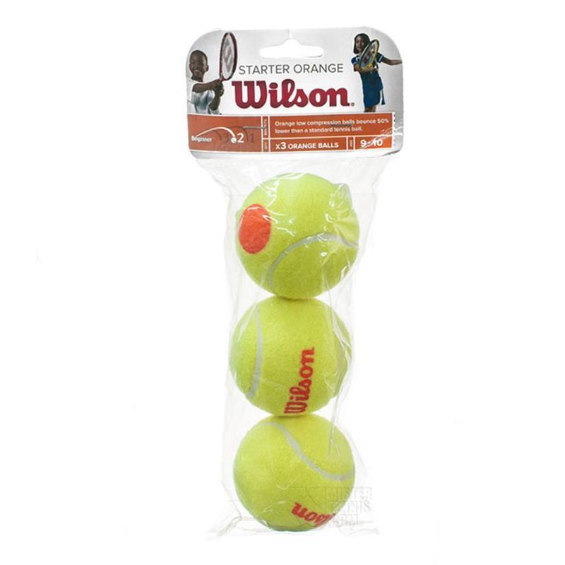 Мяч для большого тенниса WILSON Starter Orange (3 шт)