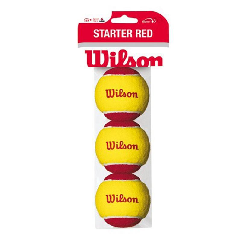 Мяч для большого тенниса WILSON Starter Play Ball (3 шт)