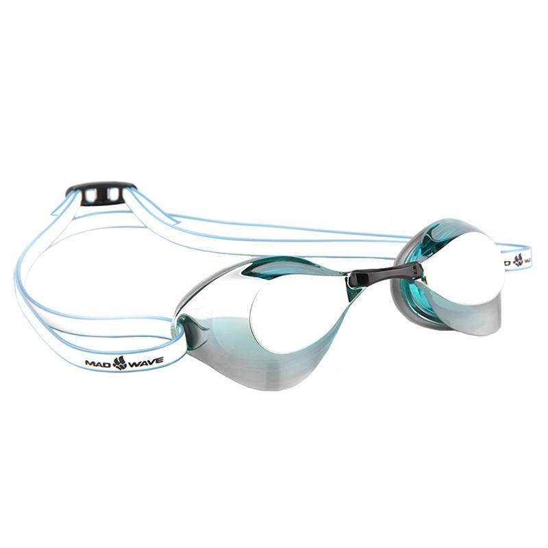 Стартовые очки MAD WAVE Turbo Racer II Mirror