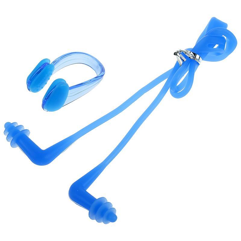 Беруши для плавания+зажим для носа ONLITOP 4136114 силикон