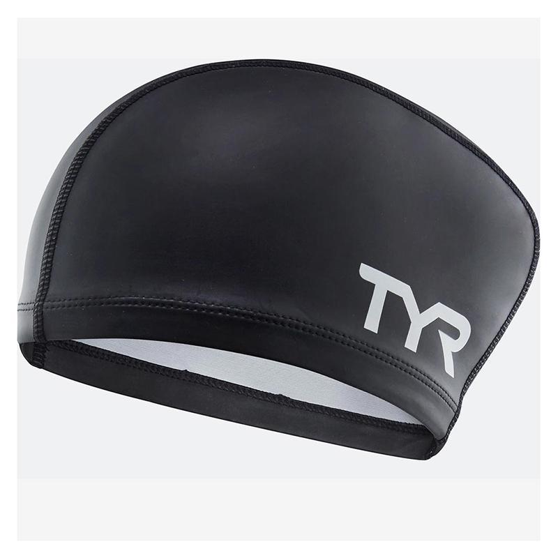 Шапочка для плавания TYR Long Hair Silicone Comfort Swim Cap