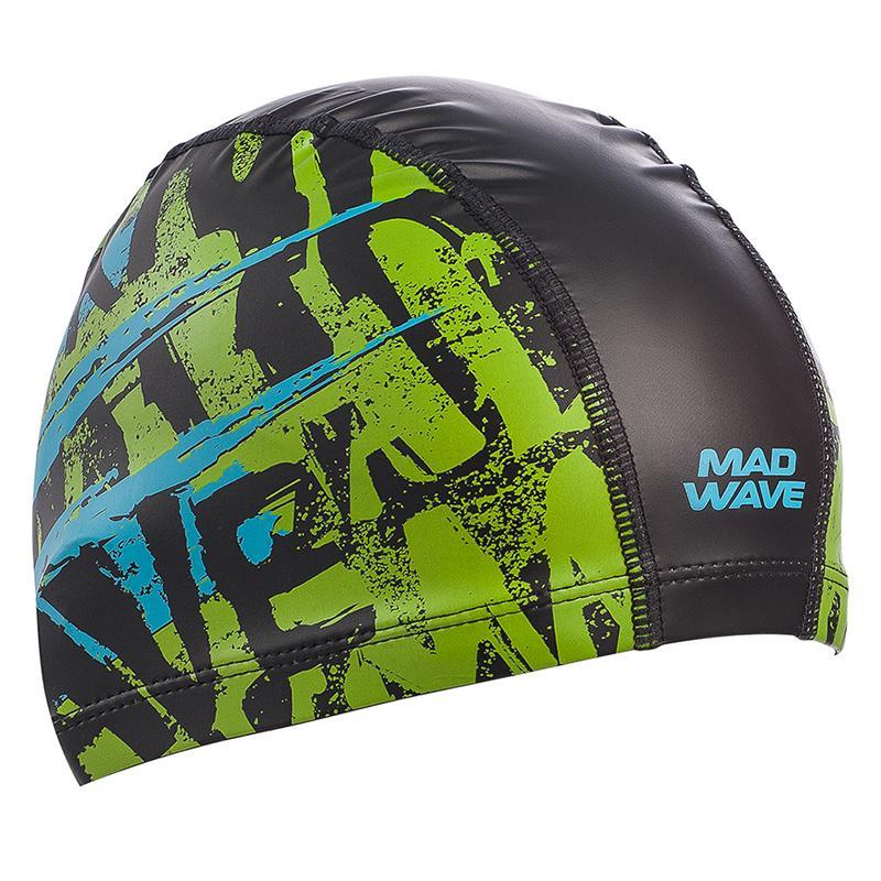 Шапочка для плавания с полиуретановым покрытием MAD WAVE M0589