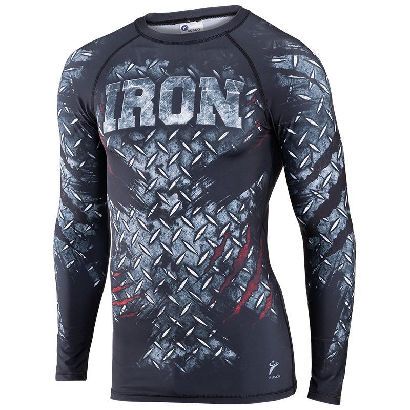 Рашгард для MMA RUSCO Iron взрослый
