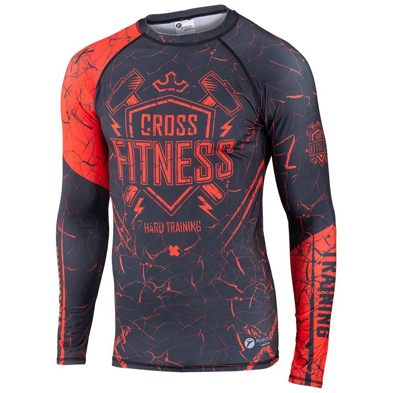 Рашгард для MMA RUSCO Cross Fitness взрослый