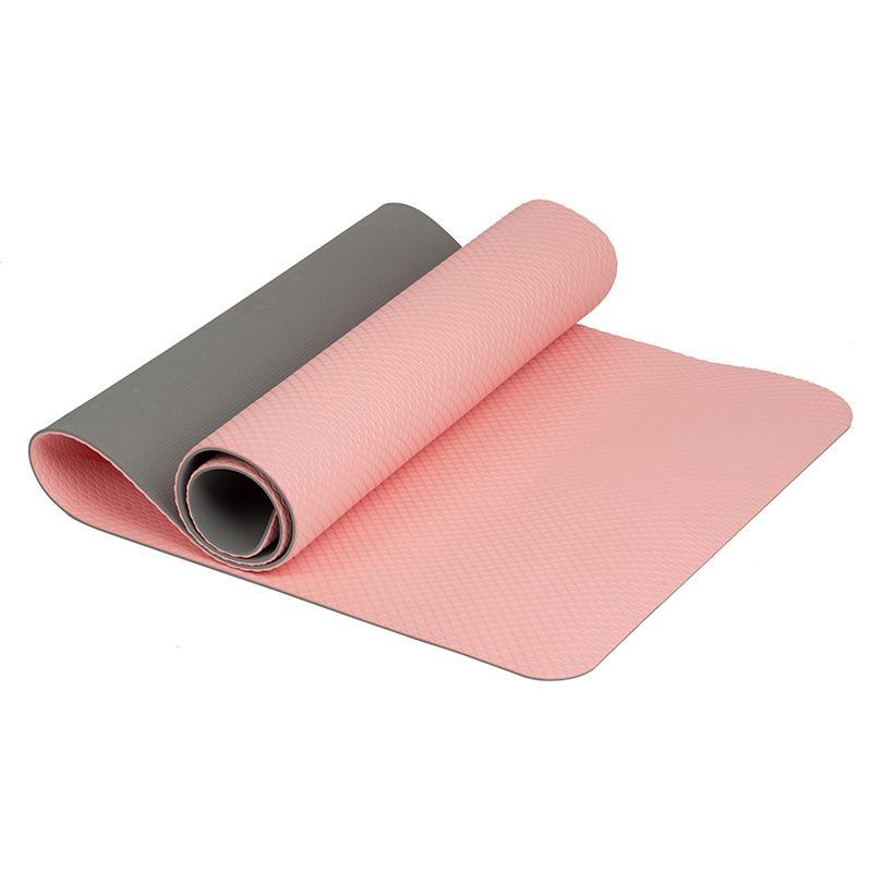 Коврик дя йоги TPE IRBL17107-P 173x61x0,6 см