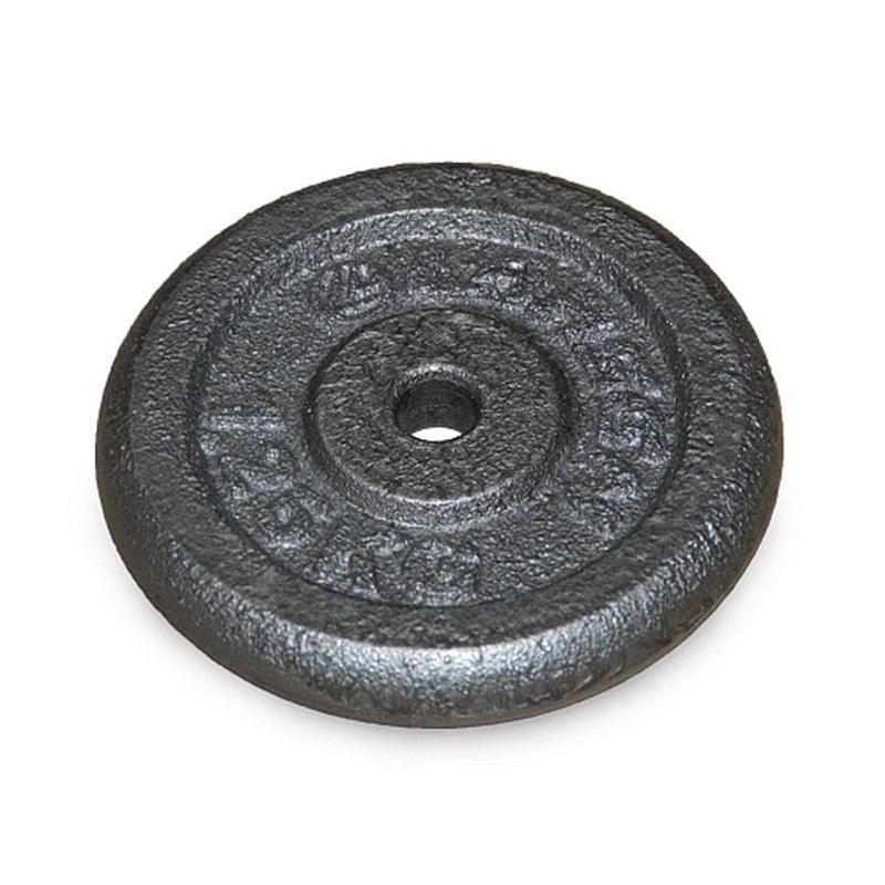 Диск металлический окрашенный NT118 1,25 кг серый диаметр 26, 31 мм